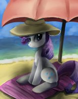 Rarity on the beach by Bread-Crumbz