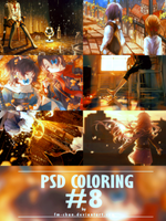 PSD COLORING #8 by BCaves