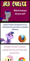 Ponies and their Browsers by Ionnan