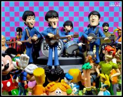 The Beatles Concert by eccoarts