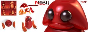 Nobu Toy W.I.P by aMorle