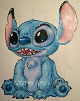 Crayon Stitch by charmedpiper12