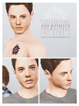 Dean Winchester Sims 3 [DOWNLOAD] by Fear-Me-December
