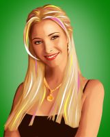 Lisa Kudrow by LilyMagpie