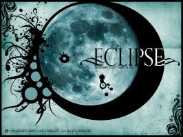 Surreal Eclipse by x-camila