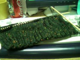 Nervous knitting project by TinyBunny