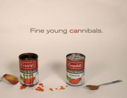 Campbell's Soup Ad by Porphyria-Kris