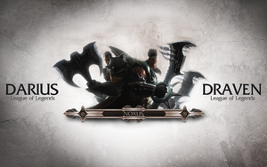 League of Legends Wallpaper - Noxus Blood Brothers by deSess