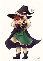 lil witch by Souruuriin