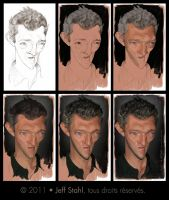 Vincent Cassel - Steps by JeffStahl