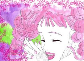 Laughing Pink Fairy by venuslove