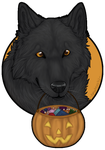 Happy Halloween! (Badge for Sale!) by OkamiAmaterasuWH