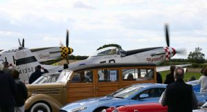 36 ford woody and mustangs 2 by Sceptre63