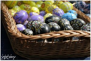 Easter Eggs by Rosselanor