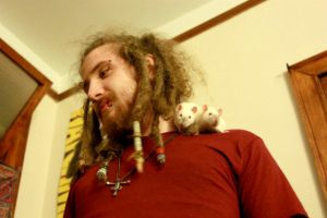 Jon And Rats by straymessenger