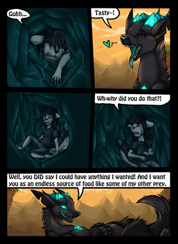 Vore, Lifesaving and a promise with loop. 4/11 by icat
