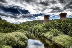 Ironbridge power stations by Engazung