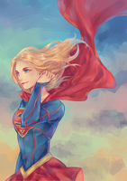 Supergirl  by xiongmaojun115