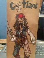 Jack Sparrow Lunch Bag by SpencerPlatt