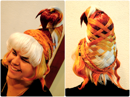 Arda Wigs Iron Wig Round 1 by Phantom-Shadow