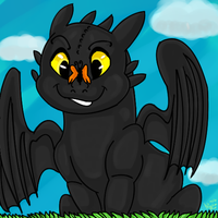 Toothless Cute by dragonrace
