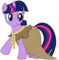 Twilight Sparkle - As Clover the Clever by Liggliluff