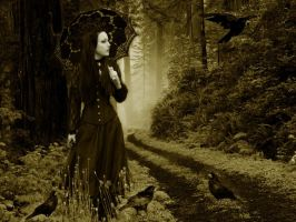 gothic-sepia by Draquee90
