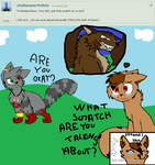 Ask Shadow Claws and Silver Fang 1 by Miss-Shadow-Claws