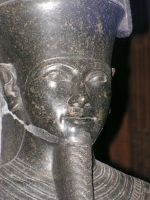 Detail of a statue by kfjg