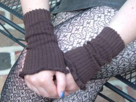 steampunky arm warmers by Pentecost