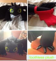 Toothless plush by Toothless300