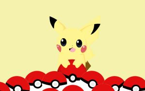 Pikachu wallpaper by BlueBubble-L