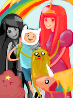 Adventure Time by HaxPunch