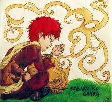 Sabaku No Gaara by moloko-plus
