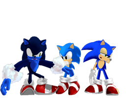 Sonic MMD model pack DL by jetknight