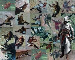 Assassin's Victem Collage by Bugabooloo