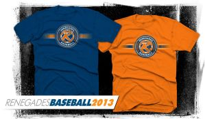 Renegades Baseball TW05012013 TEE by Bmart333