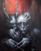 'The Frayed Ends of Sanity' by Dan-Harding