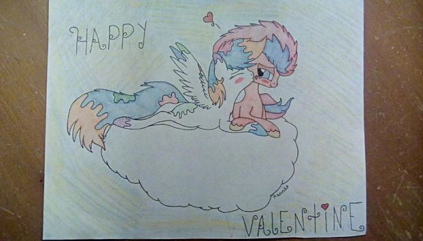 A Valentine's day gift for GameCubeRedPony by hanna0304