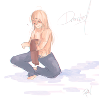 Drenched by Pinocchio-kun