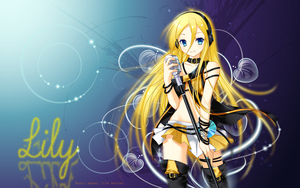 Vocaloid Lily wallpaper by Shadowthegod