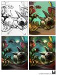 Making of Zombie Bunnies by Ry-Spirit