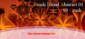 Set Brush Abstract Blend by neryl86