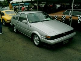 Toyota AE86 Corolla GT-S by Mister-Lou