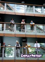 Balcony Cosplay Afoot by ManticoreEX