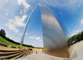 St louis arch by DzMedia