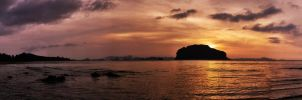 Sunrise Panoramic Koh Yao Yai by annamarcella24