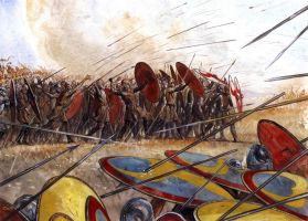 Battle of Argetoratum 357 AD by Fall3NAiRBoRnE