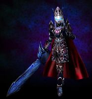 Death Knight 3D by whiteguardian
