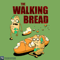 The Walking Bread by Leaf in Peace by Teebusters